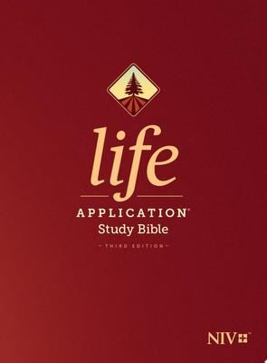 NIV Life Application Study Bible, Third Edition (Red Letter, Hardcover)
