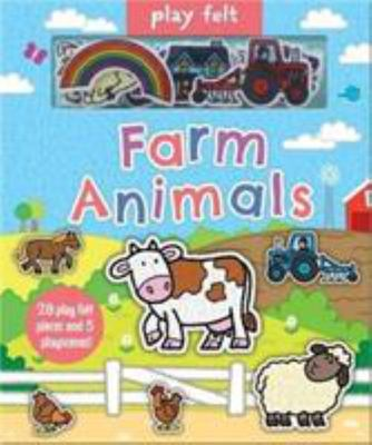 Play Felt Farm Animals Book