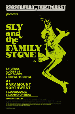 Sly and The Family Stone Poster Print