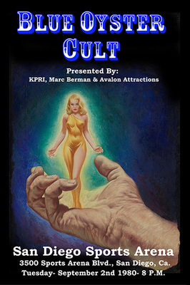 Blue Oyster Cult Poster Print