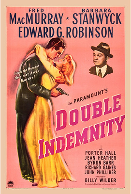 Double Indemnity Poster Print