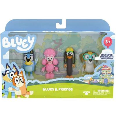 Large bluey and friends