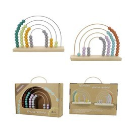 Wooden Rainbow Abacus
