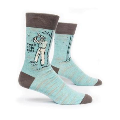 FUCK THIS SHIT MENS CREW SOCKS