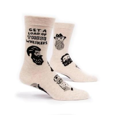 Get A Load Of These Whiskers Mens Socks