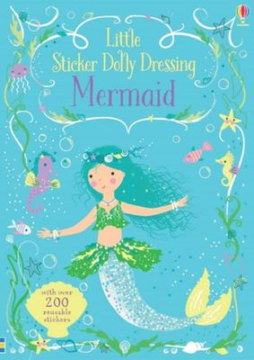 Mermaid (Usborne Little Sticker Dolly Dressing)