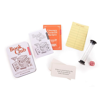 Book Club Kit Tin