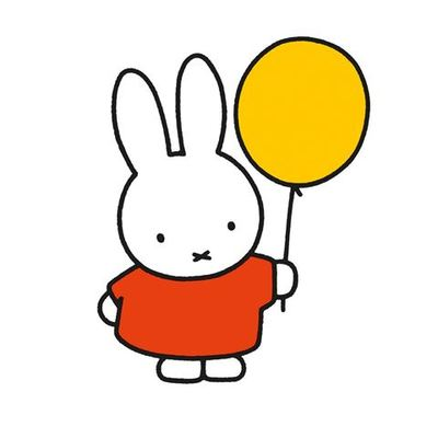 Card - Miffy and Balloon 347776