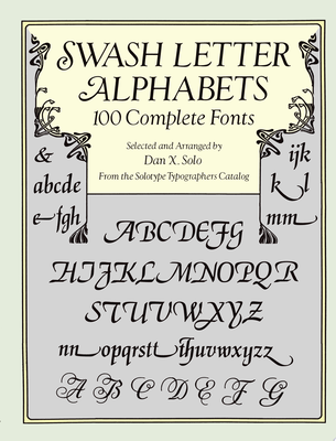 Swash Letter Alphabets