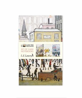 L. S. Lowry Mini Notebook Collection