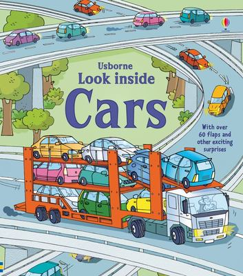 Look Inside Cars (Lift-the-Flap Board Book)