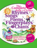 COMPLETE BOOK AND CD SET OF RHYMES SONGS POEMS FINGERPLAYS A