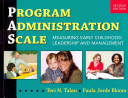 PROGRAM ADMINISTRATION SCALE MEASURING EARLY CHILDHOOD LEADE