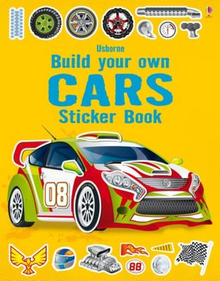 Cars (Usborne Build Your Own Sticker Book)