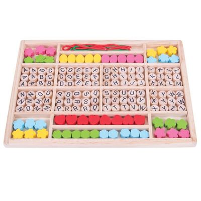 Alphabet Bead Box