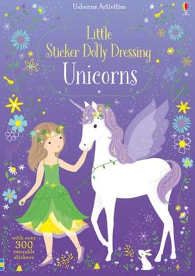 Unicorns (Little Sticker Dolly Dressing)