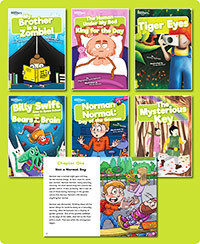 BookLife Readers Level 11 Lime Set of 6