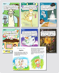 BookLife Readers Level 10 White Set of 6