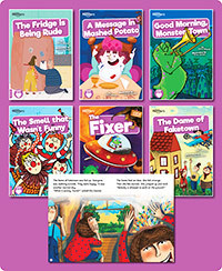 BookLife Readers Level 08 Purple Set of 6