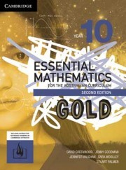 Essential Mathematics Year 10 GOLD AC 2nd Edition-SECONDHAND