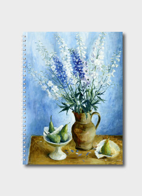 Large maleny bookshop bip 8200 delphiniums and pear journal