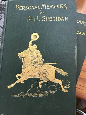 Personal Memoirs of P.H. Sheridan two volumes