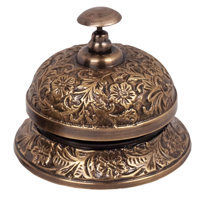 Brass Reception Bell - Authentic Models