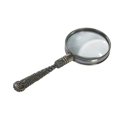 Rococo Magnifier Bronze - Authentic Models