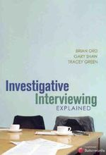 Homepage maleny bookshop investigative interviewing explained