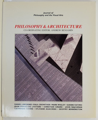 Philosophy & Architecture - Journal of Philosophy and the Visual Arts