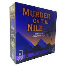 Murder on the Nile - Mystery puzzle 1000 piece