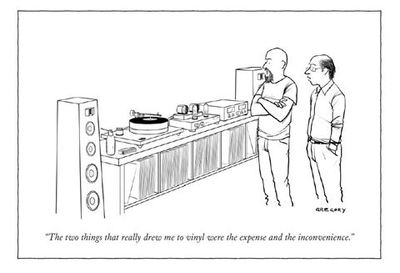 Card - Drew me to vinyl - New Yorker (NYC262)