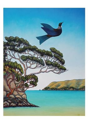 Card - Into the Wide Blue Yonder  NZCR74