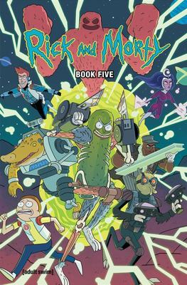 Rick and Morty Book Five - Deluxe Edition