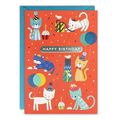 Card - Kittens Birthday HC3256