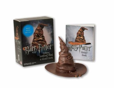 MK Harry Potter Talking Sorting Hat and Sticker Book: Which House Are You?