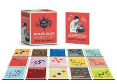 ILF Science Molecular Magnet Set - Say It With Science!