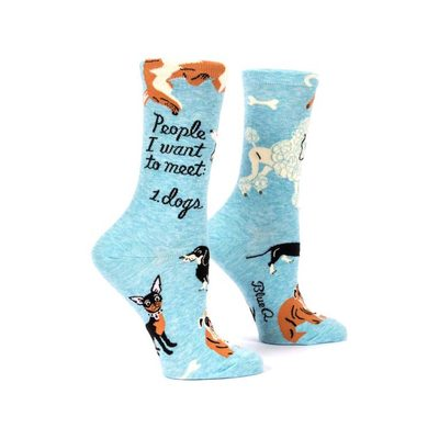 People I Want To Meet: 1. Dogs Womens Socks