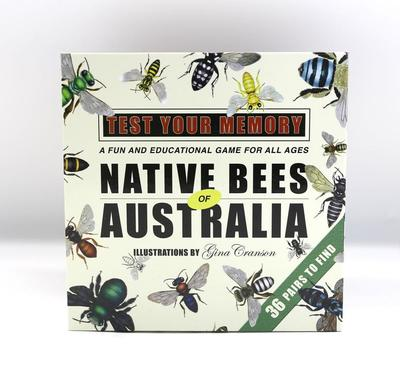 Native Bees of Australia Test Your Memory Game