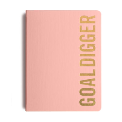 MiGoals 2021 SOFT PINK Bold Goal Digger Diary - Weekly Action B5 - Soft Cover