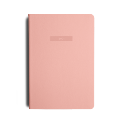 MiGoals 2021 SOFT PINK Classic Diary - Weekly A5 Soft Cover