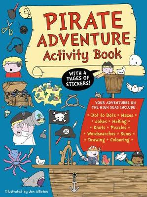 Pirate Adventure Activity Book