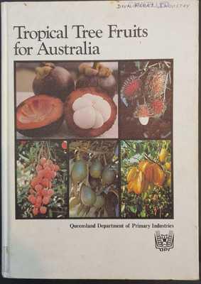 Large maleny bookshop tropical tree fruits for australia