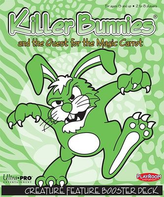 Killer Bunnies and the Quest for the Magic Carrot - Creature Feature Booster