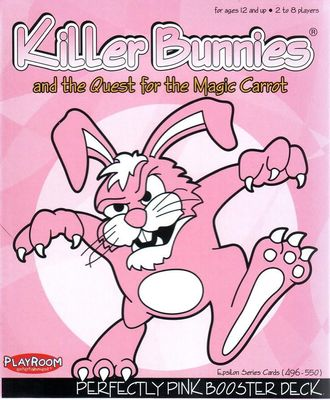Killer Bunnies and the Quest for the Magic Carrot - Perfectly Pink Booster