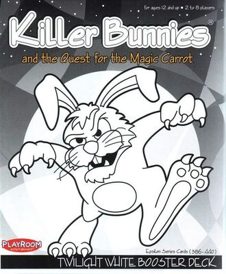 Killer Bunnies and the Quest for the Magic Carrot - Twilight White Booster