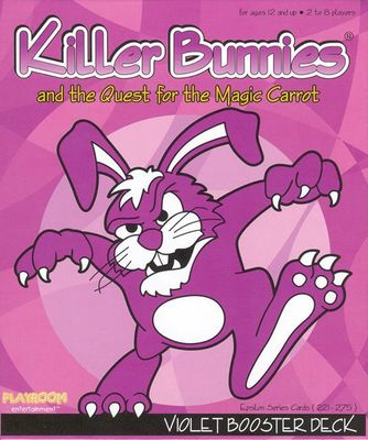 Killer Bunnies and the Quest for the Magic Carrot - Violet Booster