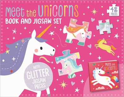 Meet the Unicorns! Book and Touch and Feel Jigsaw Boxset