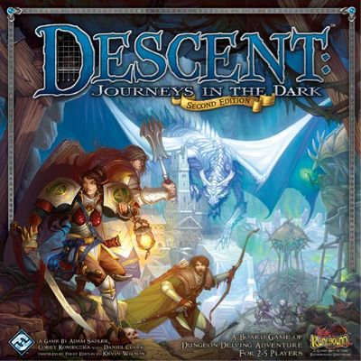 Descent - Journeys in the Dark (Second Edition)