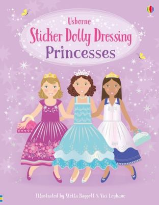 Princesses (Sticker Dolly Dressing)